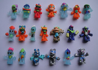 Wholesale 2016 New Arrive cm Little Monster PVC Figure Aliens Doll Cute Toy For Kids Gift Random Delivery F