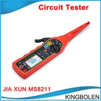 automotive digital multimeter - DHL Free JIA XUN MS8211 Automotive circuit tester Digital Multimeter Voltage resistance diode buzzer Pulse signal Testing tool etc