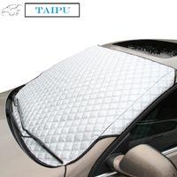 Wholesale Car Window Sunshade Car Snow Covers For SUV And Ordinary Car Sun Shade Reflective Foil Car Windshield Snow Blocked Anti UV