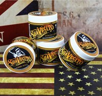 Wholesale Suavecito Pomade Strong Style Glass Globe Wax Restoring Ancient Ways Is Big Skeleton Hair Slicked Back Hair Oil Wax Mud Best Hair Wax DHL