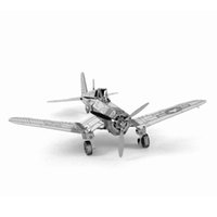 best fighter aircraft - 3D Puzzle Metal DIY Pirate Fighter Military Wars Airplane Aircraft Model Leisure Jigsaws Best Gift For Kids