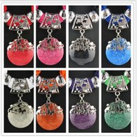 Wholesale Mixed colors fashion scarf necklace pendant accessories jewelry