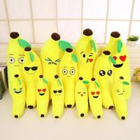 banana pillow - Banana Cushion Emoji Smiley Pillow Cartoon Cushion Yellow Emoji Banana Pillow Doll Stuffed Plush Pillow Toy