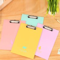 Wholesale 2 Pieces clipboards A4 notes folder folder write sub plate holder WordPad School Office Supplies Papelaria
