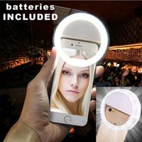 beauty ring light - Selfie Ring LED Light case Phone Light Beauty Selfie Ring Flash Fill light for iPhone s plus Samsung s6 s7 edg