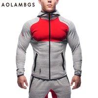 Wholesale Gymshark Hoodies Tracksuit Men Bodybuilding Fitness Hoodie Jogger Sweatshirts Gym Masculina Hombre Coat Muscle Men s Sportswear