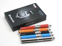 Wholesale One Day Ship Factory Price Original Yocan Evolve Quartz Dual Coils Wax Pen Yocan Evolve kit Colors Vape Pens E cigarette Kits