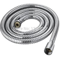 Wholesale New M Bath room shower set accessories Shower Hose Stainless Steel Chrome Bathroom Heater Water Head Pipe Plumbing Hoses