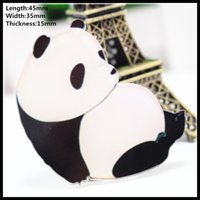 Wholesale 10 fashion cute panda cartoon badge student brooch pet brooch men s and women s pin buckle