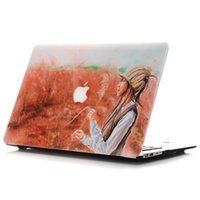 apple laptop pictures - New Picture Oil painting Case For Apple macbook Air Pro with Retina laptop Protector For Mac book inch