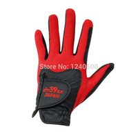 Wholesale Fit EX Golf Gloves Men s Golf Gloves Left Hand Color Black amp Red