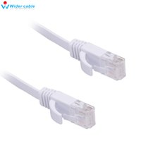 Wholesale High Quality Black High Speed Cat6 Ethernet Noolde Flat Cable cm Ultra Thin Design RJ45 Computer LAN Internet Network Cord