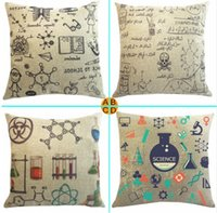 science equipment - Laboratory Of Chemical Equipment Geek Science Pillow Case Euro Cover Decorative Massager Decorative Pillows Home Decor Gift