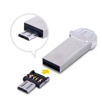 Wholesale USB female to micro male public mobile phone U disk Connector USB adapter Mini OTG card reader micro otg
