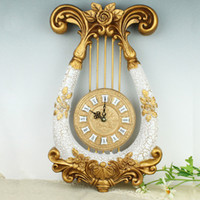 Wholesale Modern High Quality Quiet Resin Wall Clock Home Decor Classic Fashionable Creative Wall Clocks Suitable For Living Room