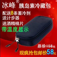 bag ice freezer - Ice cold storage box portable medical box refrigerated box for injection refrigerator refrigerator freezer bags insulation bags ice ba