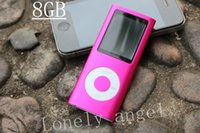 Wholesale 1 inch th generation mp4 player gb Colors for Photo Viewer eBook Music playing FM radio video playe Crystal Box