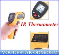 Wholesale high quality Non Contact Infrared thermometer IR Laser Gun Infrared IR Thermometer LCD digital display degree ATP017