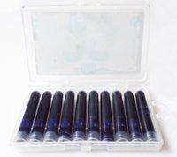 Precio de Cartuchos de tinta de la fuente al por mayor-Venta al por mayor-8/10 Pcs / lote negro recargables de cartuchos de tinta de pluma de pluma recarga de lápiz de diseño universal