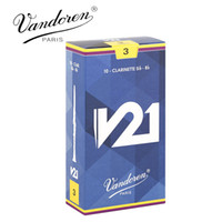 Wholesale Original France Vandoren V21 Bb Clarinet Reeds Strength Box of