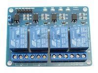 arduino c - 4 Channels V Relay Module For Arduino ARM PIC AVR DSP SRD VDC SL C module zigbee module led