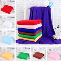 Wholesale 70CMX140CM Microfiber Bath Towel Cleaning Towel Travel Swimming Camping Towel Quick Dry Towel