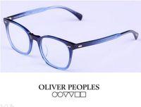 Wholesale Square Optical Frames - Brand Glasses-Oliver Peoples Vintage optical frame glasses L.A.Coen eyeglasses myopia eye glasses Full frame men women OV5297 oculos de grau
