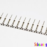 Wholesale 100Pcs Male Pin Connector for Dupont Jumper Wire Cable mm Pitch