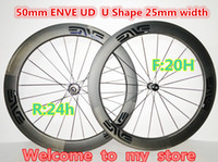 Wholesale 50mm UD Black decals U Shape mm width inside nipple A271 hub carbon wheels Made in China road bicycle wheelset weave