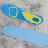 Wholesale 2016 new Men and women silicone insoles insoles movement damping insole soft contact The silicone sport insoles GEL ACTIV