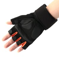 accessories body weight - Body Building One Pair Breathable Gym Weight Lifting Gloves Exercise Training Glove Pad Support Fitness Equipment Accessory