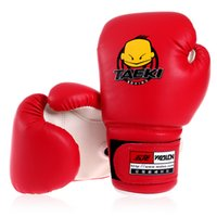 Wholesale High Quality PU Leather Kids Children Boxing Punching Gloves for Youth Boxing Strength Fitness Training Sports Gear
