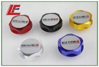 Wholesale Details about Oil Cap Engine Oil Cap Cover Aluminum Cap Tank Cover Filler For Nissan Red Black