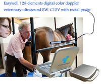 Wholesale 15 Inch LED Minitor Veterinary Ultrasound Diagnostic EW C15V With Rectal Probe For Ovine Equine Bovine s Breeding