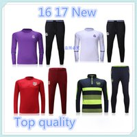 active suit - 2016 real madrid Tracksuits top quality real madrid Training suit RONALDO BENZEMA JAMES BALE Arsenal football Tracksuits