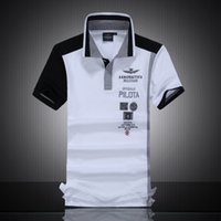 america polo shirt - 2016 New winter explosion models in Europe and America selling short sleeved T shirt men s POLO shirt embroidered NY boutique