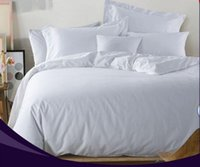 bedding comforter set manufacturing - China manufacture for satin plain white bedding set hotel