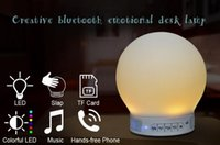 No answer ball - Magic Lamp Bluetooth Speaker Portable Smar Music Lamp Laptop USB Loudspeaker With Alarm Setting And Answering Calls
