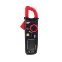 Wholesale UNI T UT210A A Conuts Ultra portable LCD Digital Clamp Meters Auto Range Current Tester with Display backlight