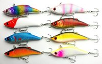 Wholesale 8pcs Hard VIB Fishing Bait CM G plastic VIB Fishing lure crankbait bass fishing tackle