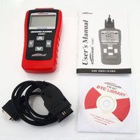 Wholesale New KW807 OBD II Scanner Tool GS500 OBD2 Scanner Automotive Diagnostic Scanner Tool Computer Vehicle Fault Code Reader Scan