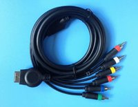 av multi cable - 100PCS HD Component AV Video Audio Multi out Cable Set for PS3 PlayStation PS cable