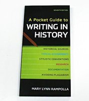 Wholesale 2016 School Popular Book A Pocket Guide to Writing in History Seventh Edition by Mary Lynn Rampolla Free DHL