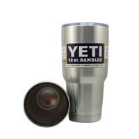 beer bottle tray - YETI Cooler Rambler Tumbler Bottle oz oz Bilayer Stainless Steel Cup Coolers Insulation Cars Beer Mug Car Cup