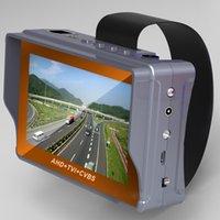 hotsales AHD portátil + TVI + CVBS Ahd / Tvi / CVBS cámara CCTV Tester 1080P la cámara del probador de 4,3 pulgadas LCD de video de la prueba 12V Potencia de salida de pruebas de cable
