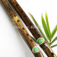 Wholesale ethnic musical instrument G tone natural black bamboo flute quality section flauta student professional bamboo flutes