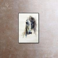achat en gros de peinture zèbres-Moderne, cheval, animaux, toile, mur, peinture, peinture, Zebra, peinture ...