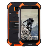 Quad Core agps sim card - GuoPhone V19 Phone With IP68 MTK6580 Android G GPS AGPS GB GB Inch Screen Shockproof Waterproof Smart Phone DHL free