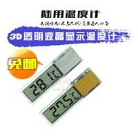 Wholesale Aquarium thermometer aquarium water temperature meter D LCD Aquarium Thermometer LCD Thermometer