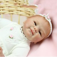 adora doll sale - Realistic New Born Infant Silicone Reborn Baby Dolls for Sale Adora Doll Kids Toys Bebe Girls Reborn Boneca Menina tsum tsum